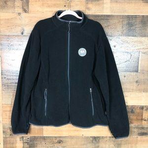 Ivory Ella fleece zip up jacket